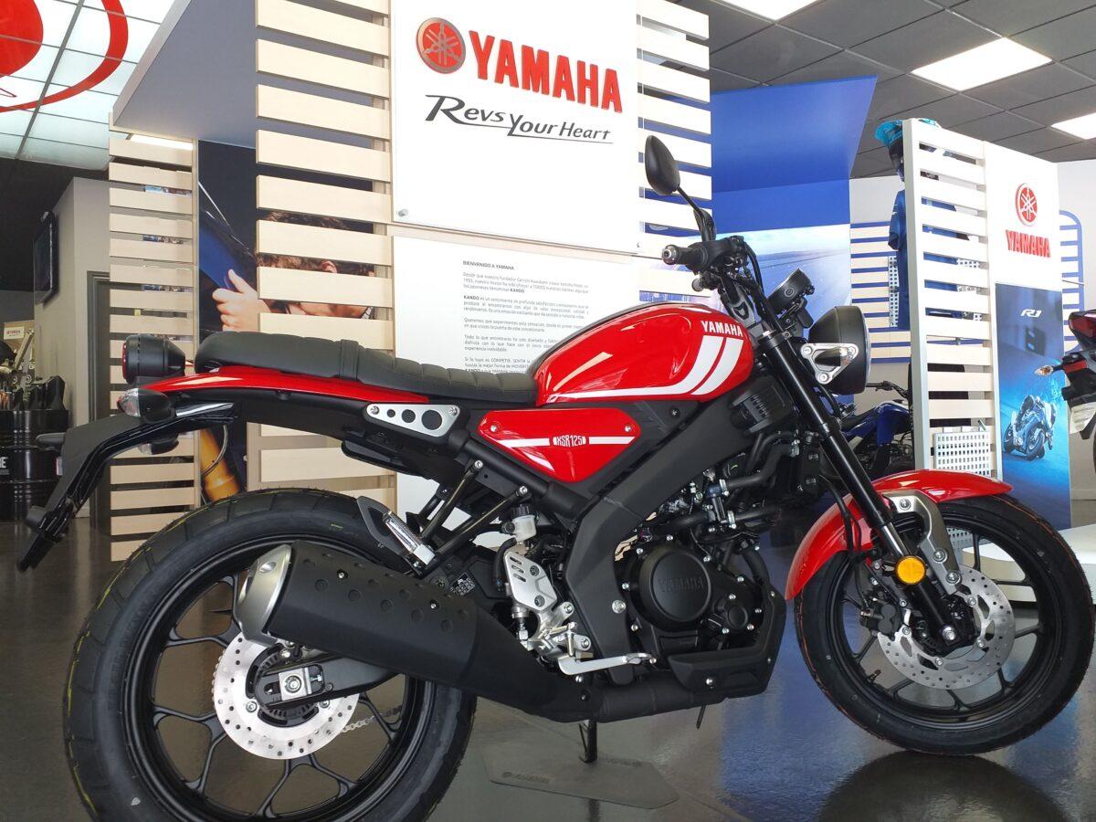 La Yamaha XSR 125 posee una gran estética neo-retro