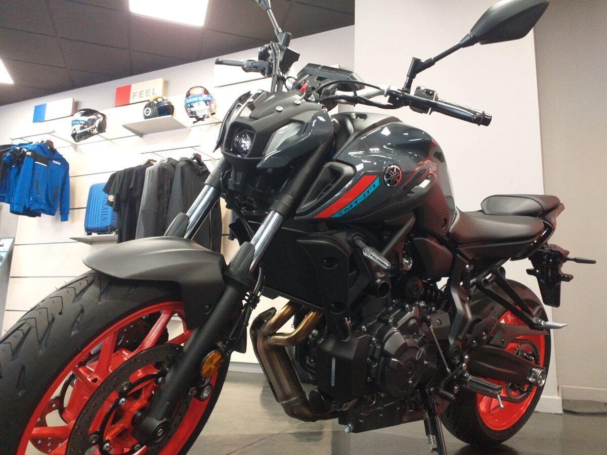 La Yamaha MT-07 2021 se adapta a la normativa Euro5